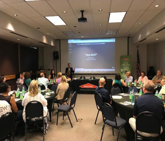 SERVPRO Helps Businesses Prepare For The Storm Season In Arlington