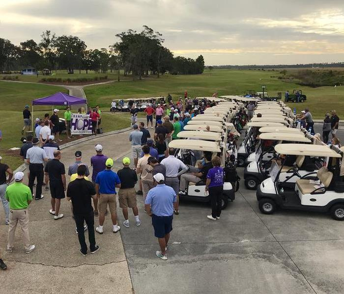 8th Annual SERVPRO Jacksonville South & Arlington Customer Appreciation Golf Tournament