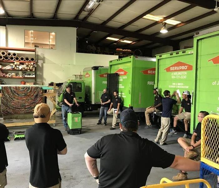 2018 SERVPRO Safety Training Meetings