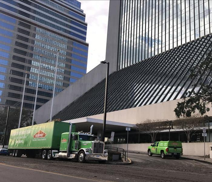 SERVPRO responds to Hurricane Irma damage at The Wells Fargo Center.