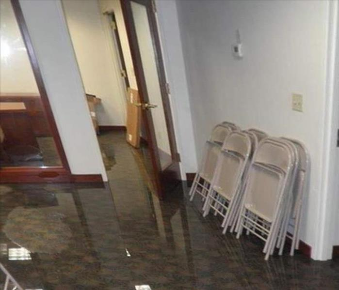 St. Nicholas Office Flooding