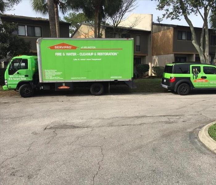 Storm Damage Yikes in Jacksonville!! Floods, Hurricanes, Tropical Storms and SERVPRO to the Rescue