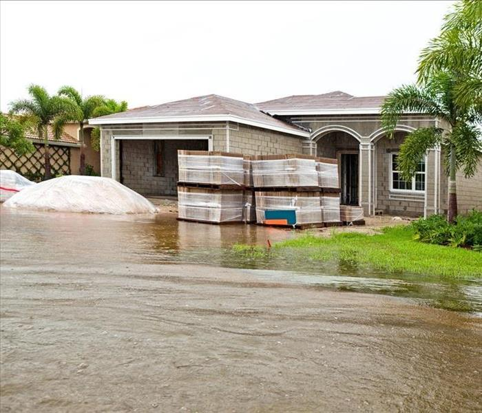 Water Damage Restoration of a Saturated Home begins with Water Removal in Jacksonville