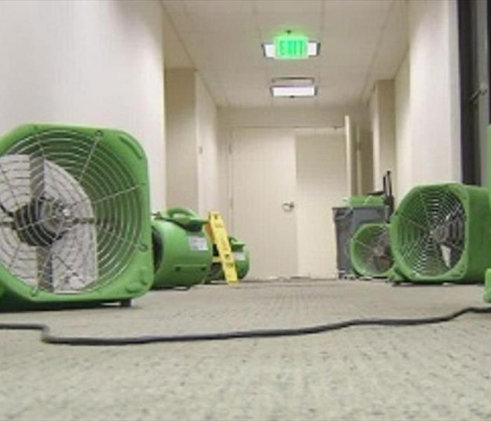 Water Damage Arlington SERVPRO Cleaning Up After Flooding